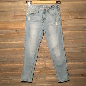 7 For All Mankind Sz 12 the ankle skinny